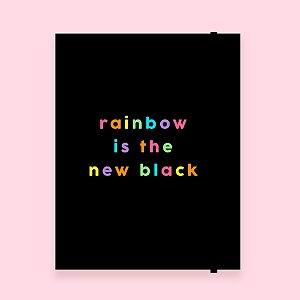 Planner Mensal - Rainbow
