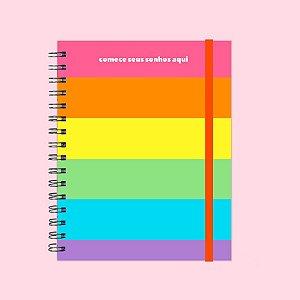 Caderno - Comece seus sonhos