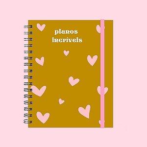 Caderno - Planos Incríveis