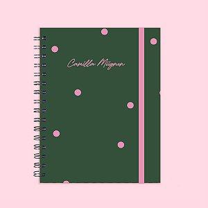 Caderno - Poá Verde