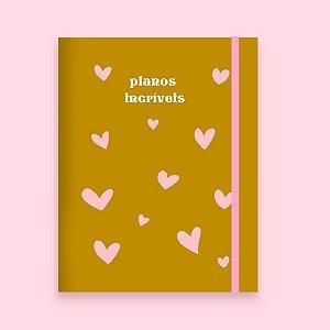 Planner Mensal Mini - Planos Incríveis