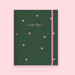 Planner Mensal Mini - Póa Verde