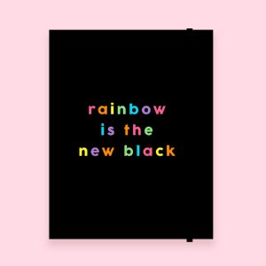 Planner Mensal Mini - Rainbow
