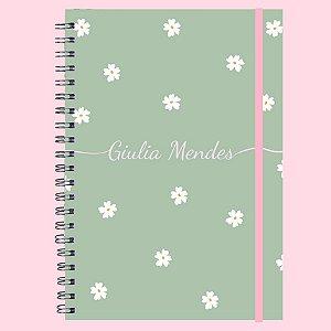 Caderno Universitário - Margaridas