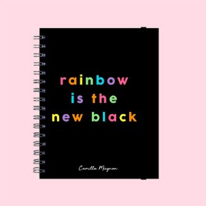 Caderno Universitário - Rainbow