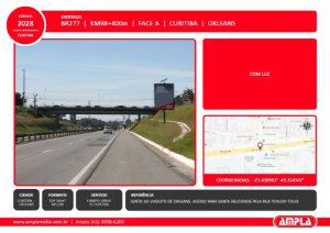 2028 - BR-277 - Km 98 + 400 m - Face A