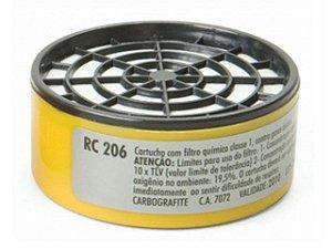 Filtro p/ Respirador CG306 Mod RC206