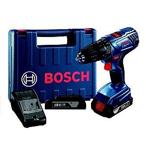 Paraf/Furadeira 18V c/ Impacto GSB180 LI Bosch