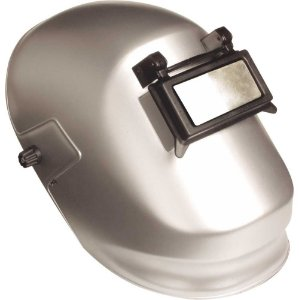 Máscara p/ Solda Advanced Super Prata Visor Fixo