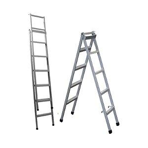 Escada Extensível Metálica Imarc 7 Degraus