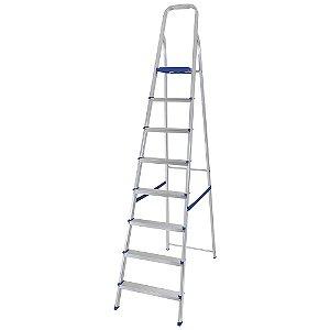 Escada Residencial Alumínio 8 Degraus