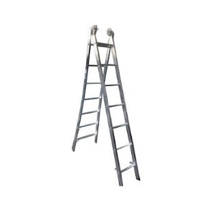 Escada Ext. de Alumínio Dupla 7 Degraus