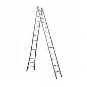 Escada Ext. de Alumínio Dupla 13 Degraus