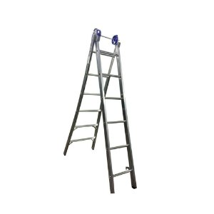 Escada Ext. de Alumínio Dupla 6 Degraus