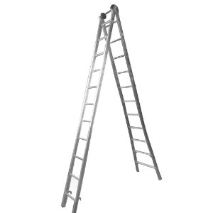 Escada Ext. de Alumínio Dupla 11 Degraus