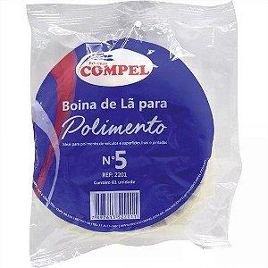 """Boina de Lã p/ Polimento 4.1/2"""""""