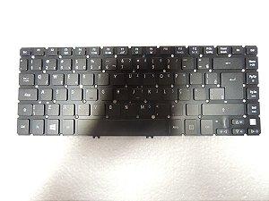 Teclado Acer V5-471-6888 / 6620 / 6569 / v5-431 / v5-471 / v5-471-6677 / 6678 / V5-431-2618 / 2696 / 4689 / v5-431-2675 / 4407 / 4899 Com Backlight