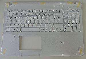 Teclado Para Notebook Sony Vaio svf153b1yx Branco BR