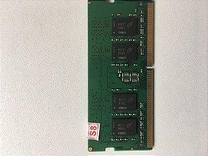 Memoria 8gb ddr4 para notebook dell inspiron i15 5567 a40 a40c a30b n30b a30 a40b a30v