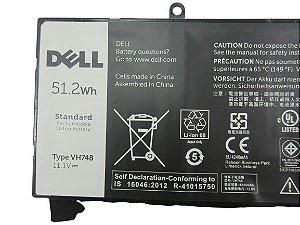 Bateria Vh748 Para Ultrabook Vostro 5480 B60