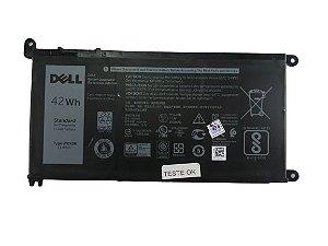 Bateria Wdx0r Para Notebook Dell Inspiron I15 5567 A40b