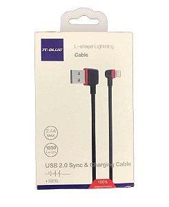 cabo carga em l usb-c it blue Smartphone lg  v40 trinq
