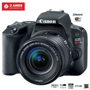 Canon EOS Rebel SL2 com Lente 18-55mm