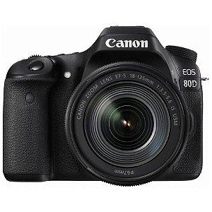 Canon EOS 80D com Lente 18-135mm