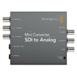 Blackmagic Mini Conversor SDI para Analógico