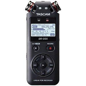 Gravador Tascam DR-05X