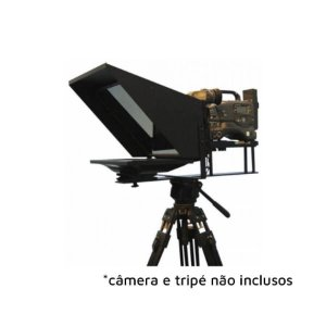 "Teleprompter Project Telecom Para Estúdio 19"" LED"