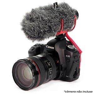 RØDE VideoMic Go Microfone Para Câmeras