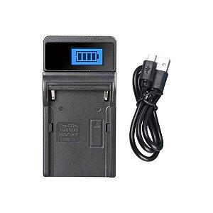 Carregador de Bateria USB JHTC NP-F550