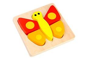 Mini brinquedo de encaixe - borboleta