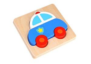 Mini brinquedo de encaixe - polícia