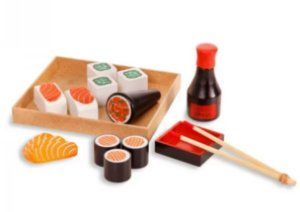 Comidinha - Kit sushi