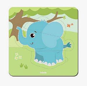 Quebra cabeça baby - elefante