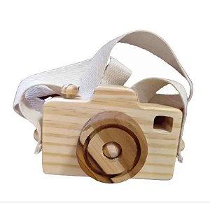 Câmera fotográfica lúdica - cru