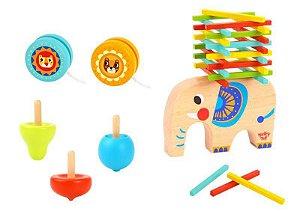 Jogo de equilíbrio - Elefantes