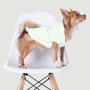 Casaco de Moletom para Cachorros Branco - Kit Tie Dye