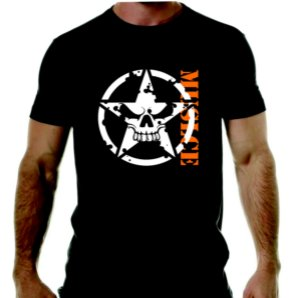 Camiseta Caveira Muscle - academia
