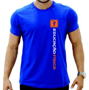 Camiseta Educação Física Academia Curso