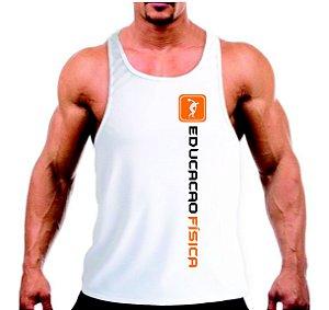 Camiseta regata Educação Física Academia Curso