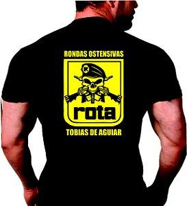 Camiseta Polícia Rota Tobias de Aguiar