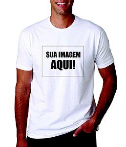 Camiseta personalizada com sua imagem - Veja descrição!