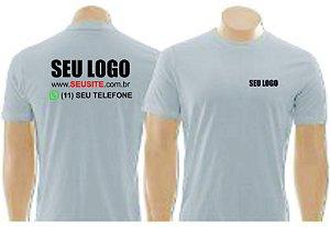 Kit 5 Camisetas uniformes para sua Empresa com sua Logo.