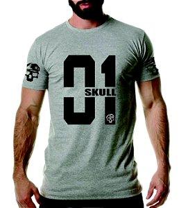 Camiseta academia Skull 01