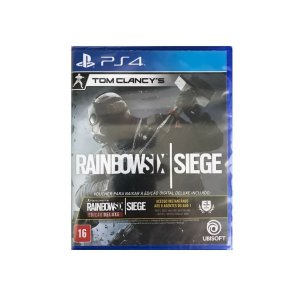 Jogo Game Tom Clancys Rainbow Six Siege PS4 - Sony