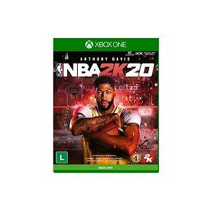 Jogo Game NBA 2K20  Xbox - Microsoft