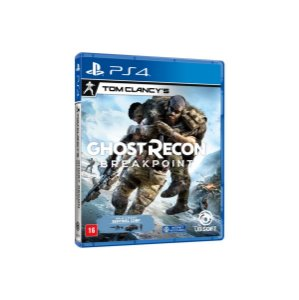 Jogo Game Game Ghost Recon Breakpoint Ps4 - Sony